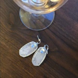 Rose Quartz Kendra Scott Earrings